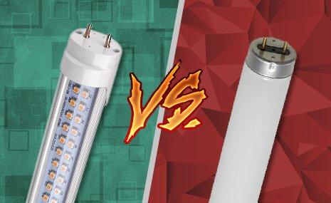 Você sabe a diferença entre as Lâmpadas Tubulares LED e as FLUORESCENTES? #Dicasflash 5