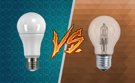 Você sabia? Comparação Lâmpada LED vs Halógena #Dicasflash 6