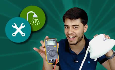 Como testar um chuveiro sem água?  #DicasFlash 17