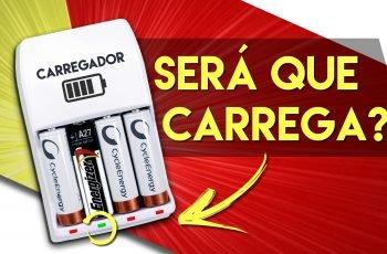 CARREGANDO PILHAS NÃO RECARREGÁVEIS… Ideia Maluca 02