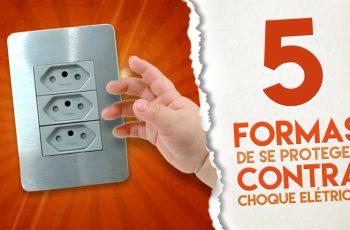 5 formas INCRÍVEIS de SE PROTEGER contra Choques Elétricos