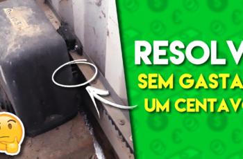 Portão eletrônico com DEFEITO – resolvi SEM GASTAR DINHEIRO!